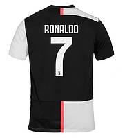 Детская футбольная форма Ювентус RONALDO 7 2019-2020 основная черно-белая, фото 1