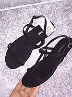 Женские сандалии босоножки H&M Devided, черные, в наличии , в наличии 36 37 38 39 40 41, фото 1