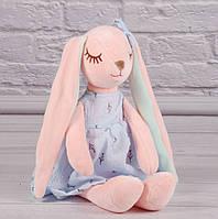 "Мягкая игрушка Зайчик ""Манюня"", плюшевый заяц, фото 1"