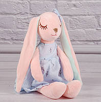 """М'яка іграшка Зайчик """"Манюня"""", плюшевий заєць, фото 1"""