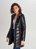 Стеганое пальто черного цвета TM  Cropp