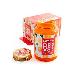Ампульная сыворотка с витаминами FARMSTAY DR.V8 VITAMIN AMPOULE, 250 мл