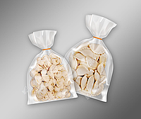 Пакеты под заморозку вареники, пельмени 210х250 прозрачные 52 мкм 200 шт (400-500г)