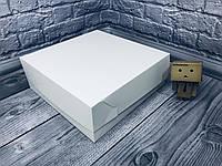 *10 шт* / Коробка / 250х250х90 мм / Белая / б.о. / для торта, фото 1