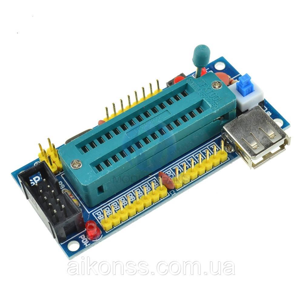 Адаптер к программатору отладочная макетная плата AVR ATmega8 ATmega48 ATmega88 USB
