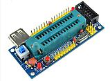 Адаптер к программатору отладочная макетная плата AVR ATmega8 ATmega48 ATmega88 USB, фото 3