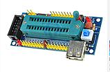 Адаптер к программатору отладочная макетная плата AVR ATmega8 ATmega48 ATmega88 USB, фото 2