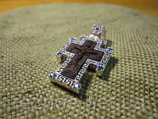 Крестик в окладе серебра