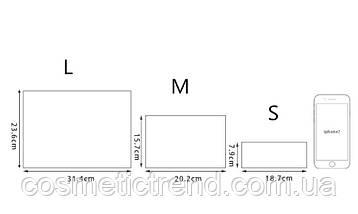 Сумочка жіноча прозора силіконова c малюнком Flamingo 20,4*15,8 см (розмір М), фото 3