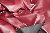 Ткань эко кожа бордо, стрейч №319, фото 1