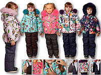 Детский зимний костюм комбинезон для девочки