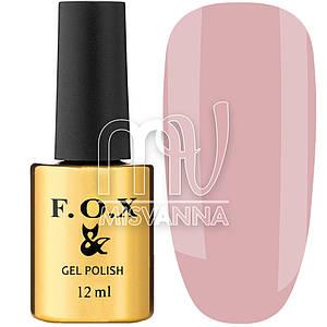 Гель-лак F.O.X French №725, 12 мл полупрозрачный розовый