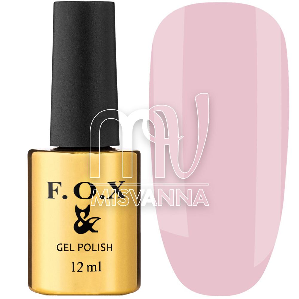 Гель-лак F.O.X French №726, 12 мл полупрозрачный розовый