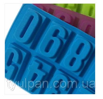 3D Форма силиконовая Цифры молд