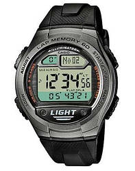 Наручний годинник CASIO W-734, Black