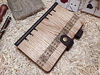 Деревяный блокнот А6