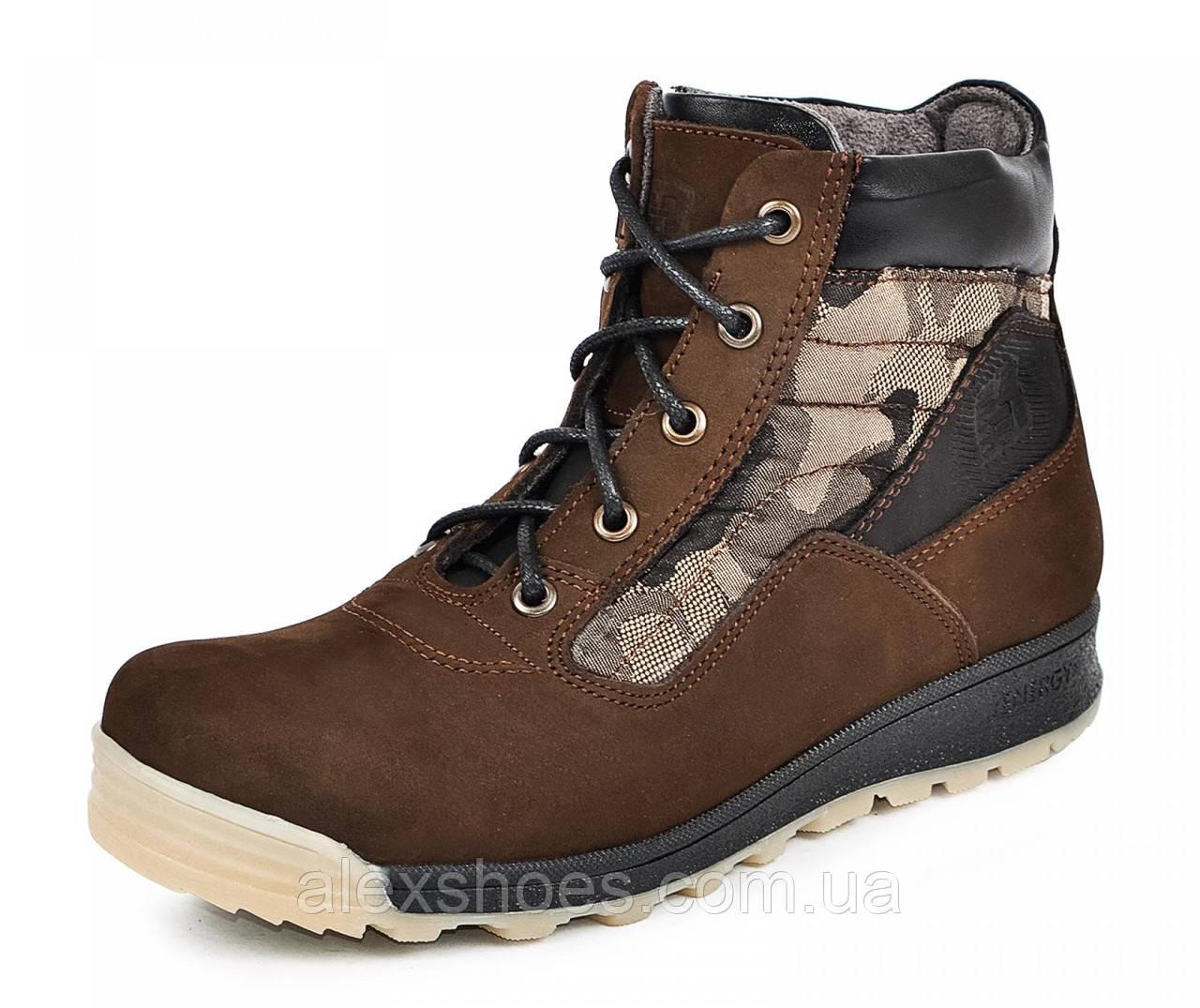 Ботинки подростковые из натуральной кожи от производителя модель МАК915
