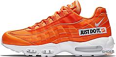 Мужские кроссовки Nike Air Max 95 Just Do It Pack Orange AV6246-100, Найк Аир Макс 95