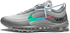 Женские кроссовки Nike Air Max 97 Off-White Menta AJ4585-101, Найк Аир Макс 97