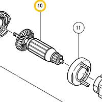 Якорь электродвигателя 220-240В Hitachi/HiKOKI 360626E