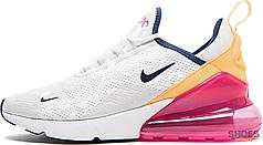 Женские кроссовки Nike Air Max 270 Laser Fuchsia AH6789-106, Найк Аир Макс 270