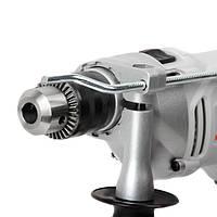 Дрель ударная 950Вт, 0-2800 об/мин, 1.5-13мм, реверс, металлический корпус редуктора, фото 4
