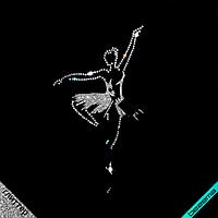 Картинки из страз на купальник Балерина