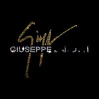 Дизайн зі страз на сатин Логотип ss6-золото,ss10-кристал,