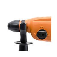Перфоратор 850 Вт, 3 режима, 2.5 Дж, 0-1100 об/мин, 0-5100 уд/мин, фото 2