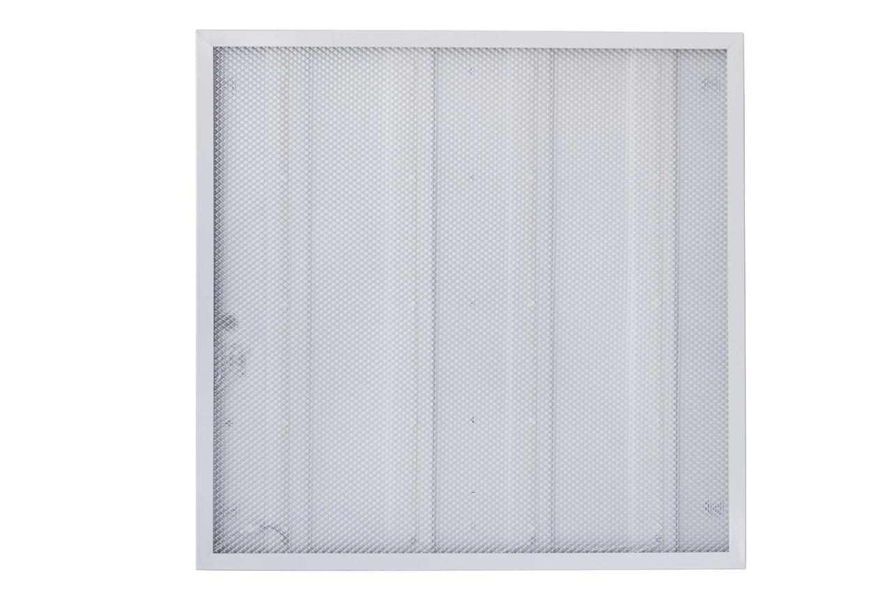 Светильник панель светодиодная Евросвет 36Вт Призматик (Колотый лёд) 4000К 600х600мм 3000Лм
