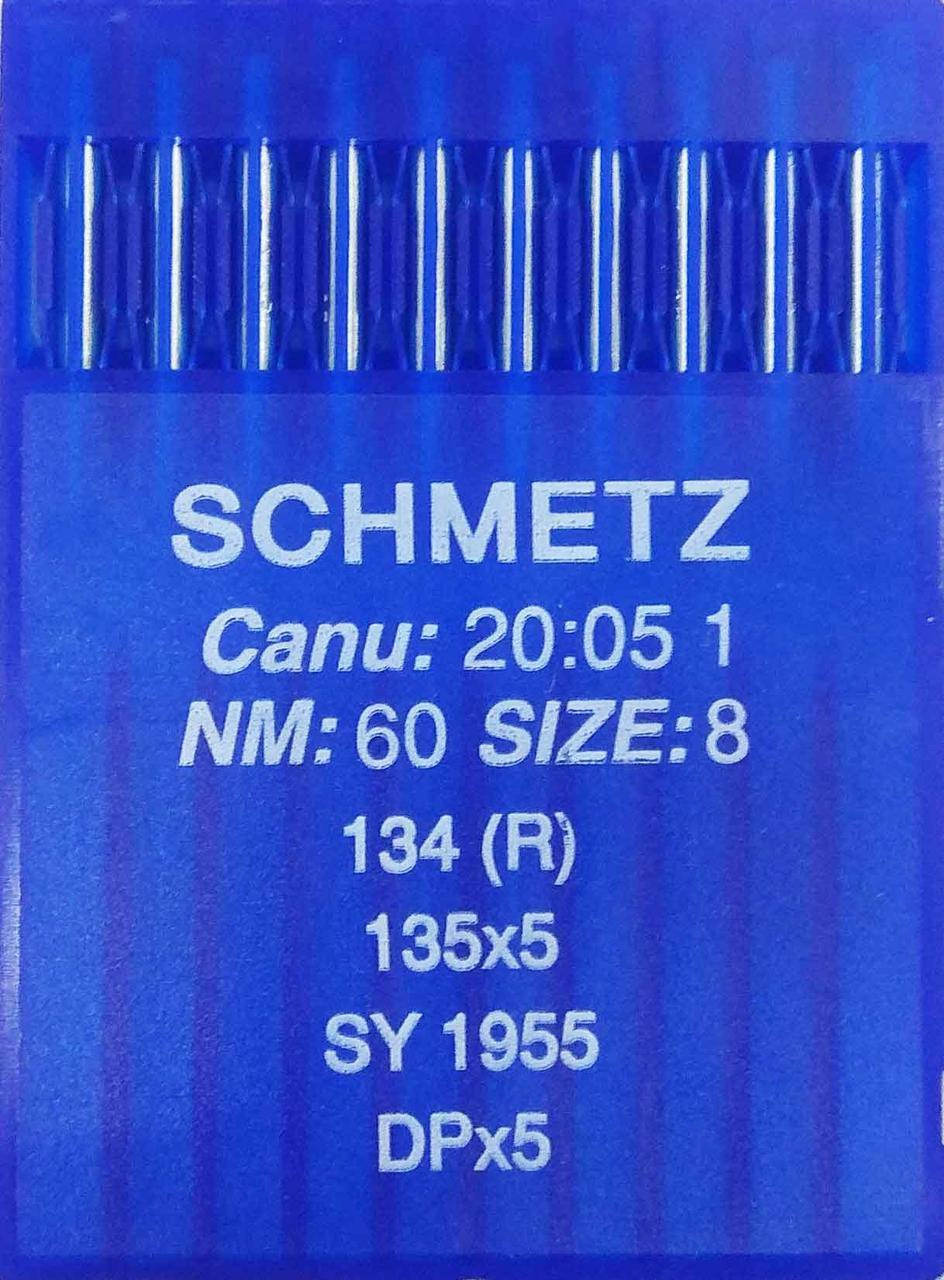 Иглы Schmetz DPx5 №60 для промышленных швейных машин