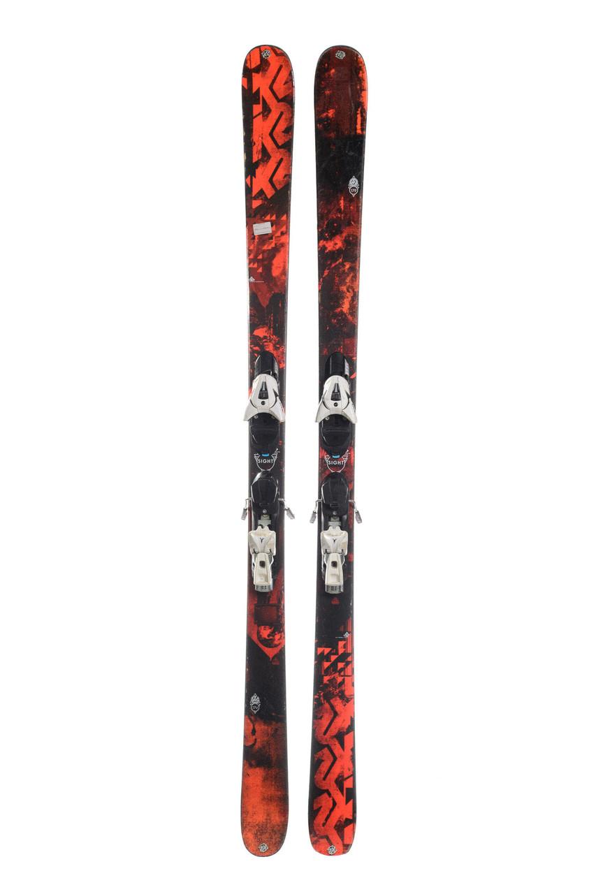 Горные лыжи K2 Sight 179 Black-Red из АВСТРИИ!!!