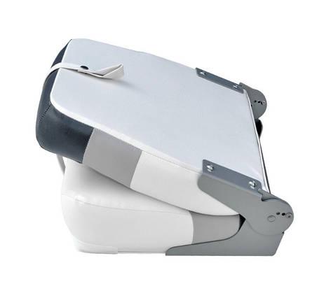 Сиденье Premium высокая спинка  Белый/Серый/Уголь, фото 2