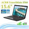 """Офисный ноутбук Acer TravelMate 5760 15.6"""" 4GB RAM + WEB CAM"""
