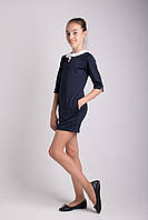 """Школьное платье """"Брошка"""" для девочек от производителя, фото 1"""