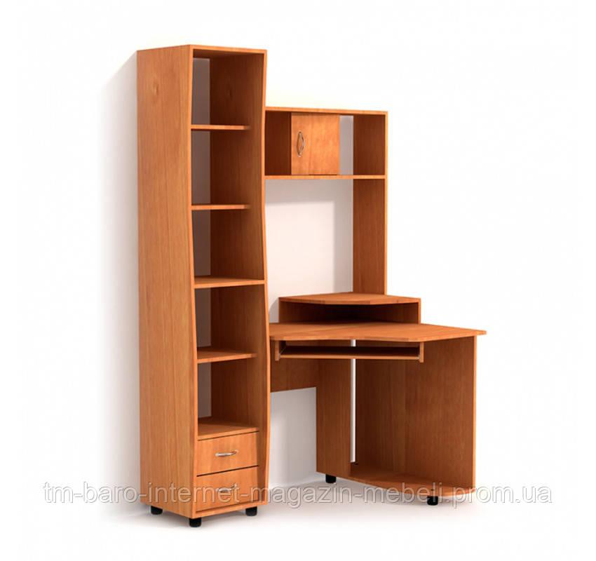 Стол компьютерный C815 с пеналом, LuxeStudio