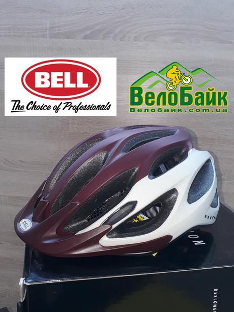 Велошолом Bell COAST MIPS 50-57см S 2018 вишневий/білий/матовий