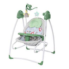 Кресло-качалка 3в1 Carrello Grazia CRL-7502 с рождения до 15 кг, Jade Green