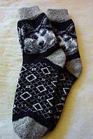 Теплі шерстяні чоловічі носки.
