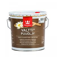 Масло атмосферостойкое TIKKURILA VALTTI OIL для древесины 2.7 л