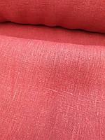 Грубый плотный кирпичный лён (шир. 150 см), фото 1