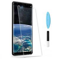 Защитное стекло для Samsung Galaxy S9 G960 с ультрафиолетовым клеем (полная проклейка) 5D