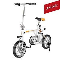 Складной Электровелосипед (Городской Электробайк)  AIRWHEEL R3+ 214.6WH, 14 Дюймов, Белый (6925611240147)