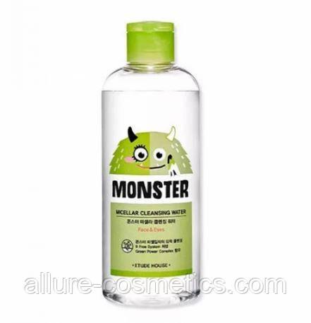 Мицеллярная вода для снятия макияжа ETUDE HOUSE Monster Micellar Cleansing Water