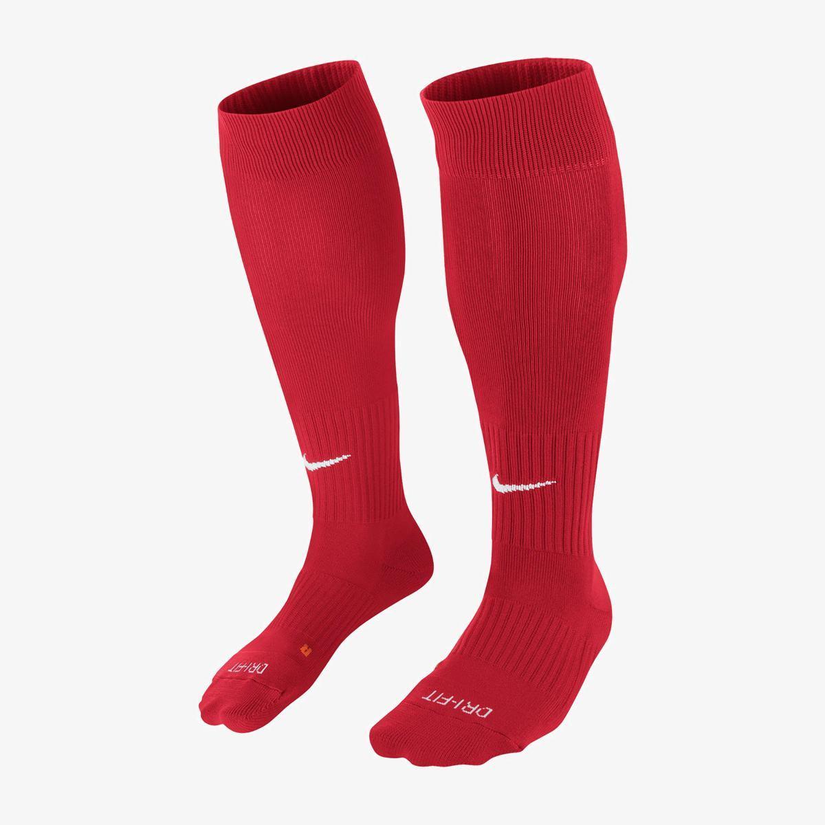 Гетры футбольные Nike Classic II Cushion SX5728-648 Красный L (42-46) (091209577455)