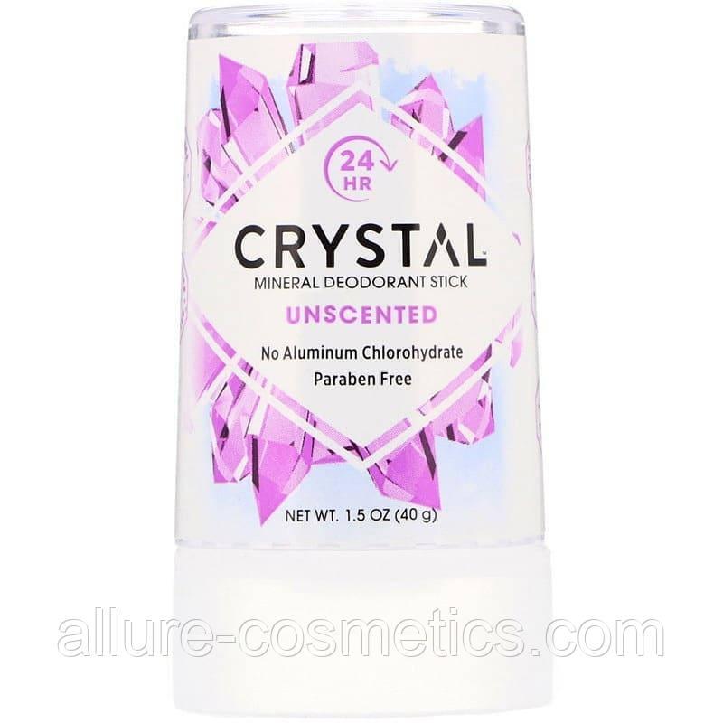 Crystal Body Deodorant Минеральный дезодорант-карандаш без запаха