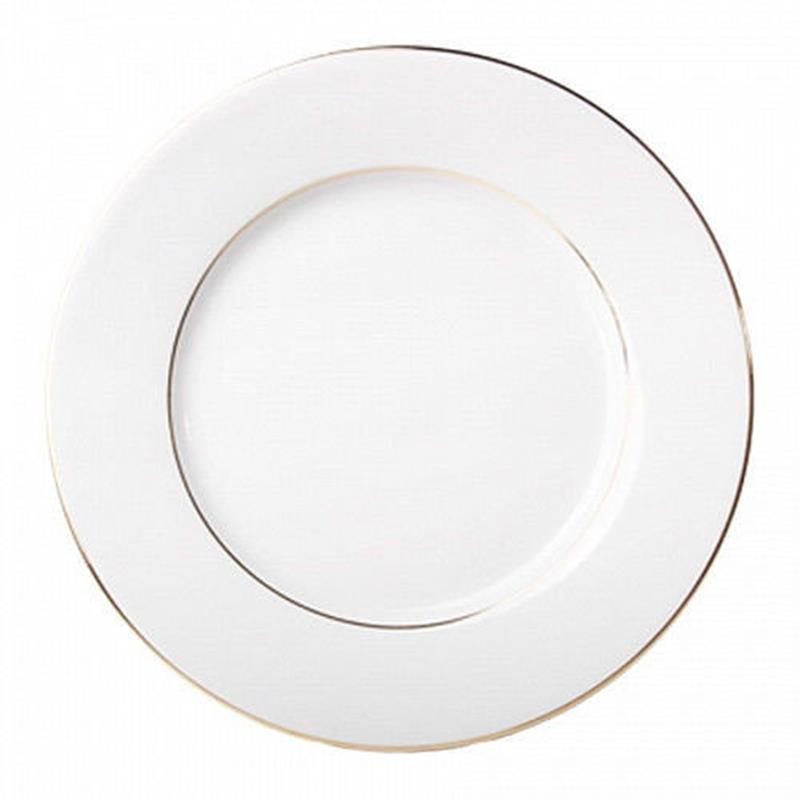Блюдо круглое И.Ф.З. Молодежная Золотая лента 300 мм 09402