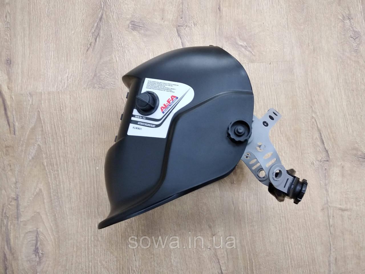 Сварочная маска хамелеон AL-FA ALWM01 - фото 5