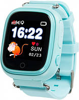 Детские водонепроницаемые смарт-часы с GPS трекером Smart Baby TD-02s Blue