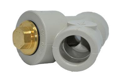 Поліпропіленовий фільтр для PPR систем